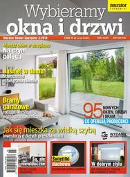 """Numer Specjalny 3/2016 """"Wybieramy okna i drzwi""""  KUP TEN NUMER"""