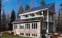 Domy przyszłości w Kanadzie. Same produkują prąd i zarabiają na siebie