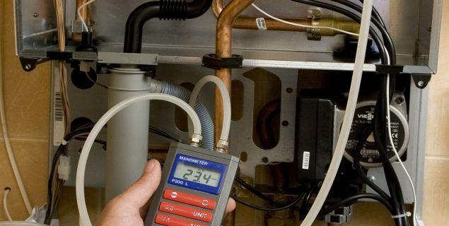Eksploatacja kotłów konwencjonalnych i kondensacyjnych - przegląd kotła gazowego