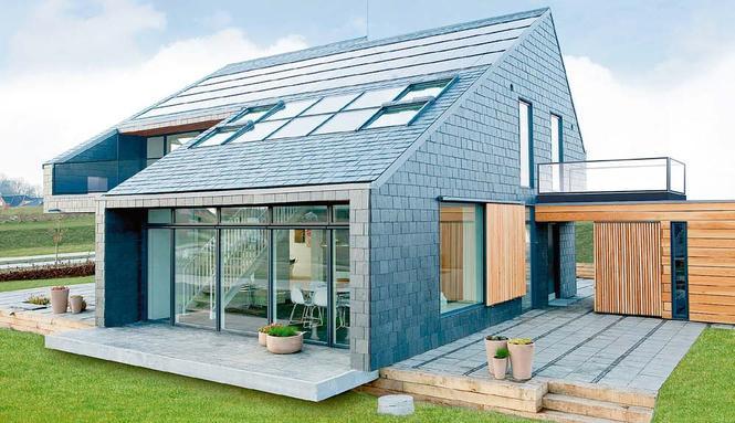 Ogrzewanie domu przyszłości - kolektory słoneczne