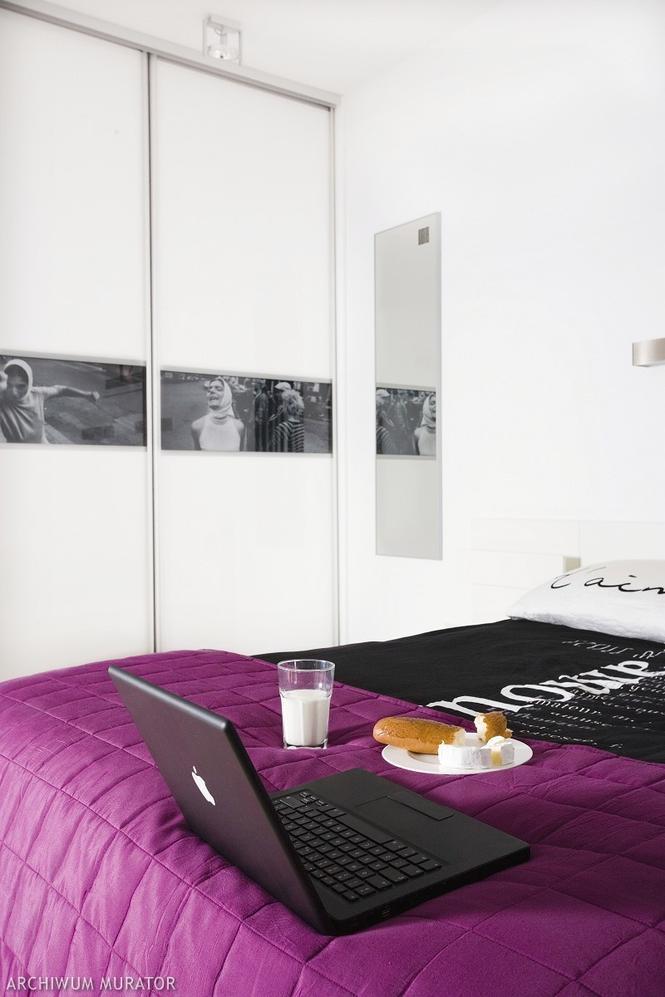 Szafa do sypialni: z poziomym zdjęciem