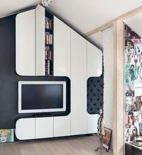 Aranżacja małego mieszkania na poddaszu