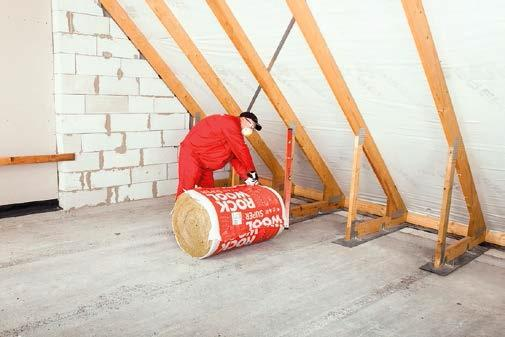 Przygotowanie konstrukcji do ocieplania