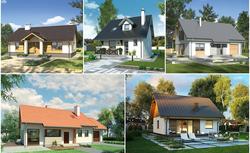Mały dom. 5 najlepszych projektów małych domów o powierzchni mieszkania (70-80 m2)