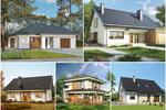 Dom do 100 / 110 m2. Top 5 projektów domów, które zbudujesz z pomocą programu MdM
