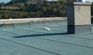 Papy na płaski dach