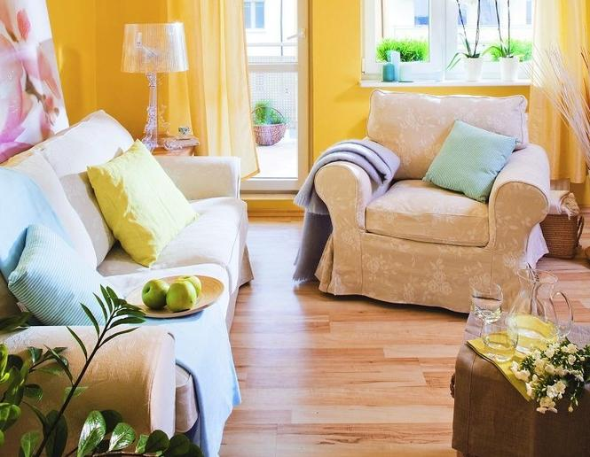 Do jakich wnętrz pasują żółte ściany?