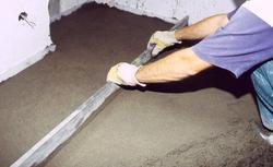 Tradycyjna szlichta, czyli wylewka betonowa, cementowa, anhydrytowa